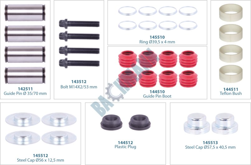 144011-Caliper Repair Kit