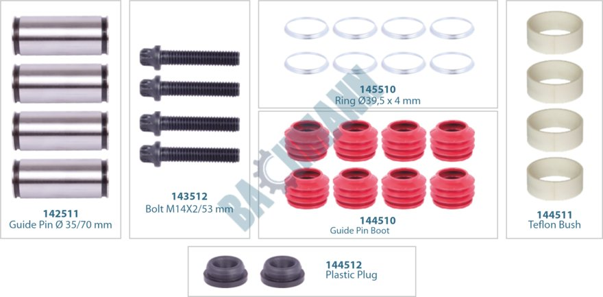 144014-Caliper Repair Kit