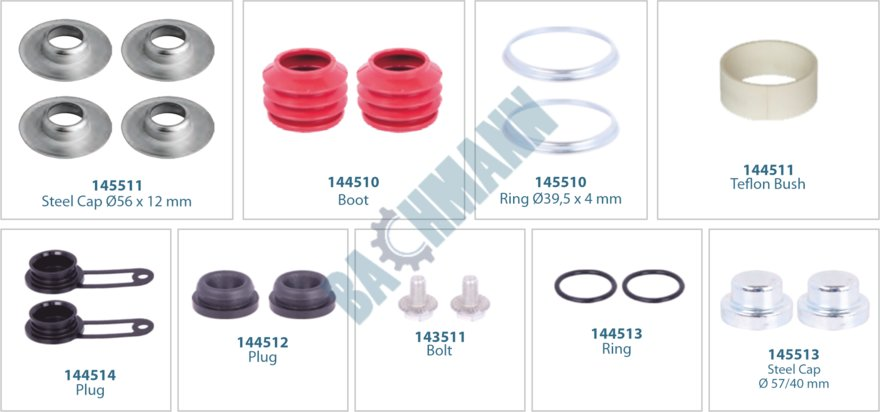 144017-Caliper Repair Kit