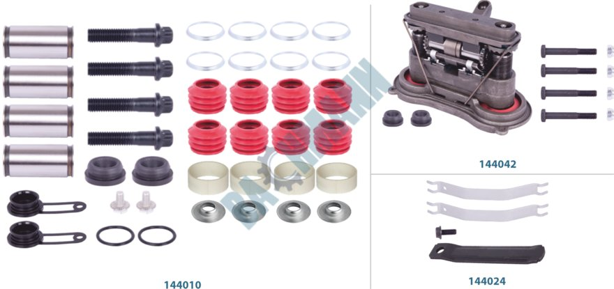 144043-Caliper Complete Repair Kit